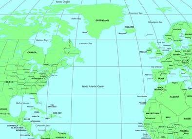 atlantic ocean information and gallery